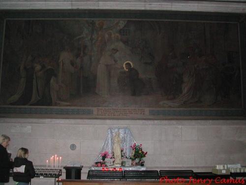 La basilique de Bois-Chenu à Domrémy...
