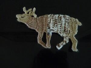 La naissance d'un cerf....au crochet
