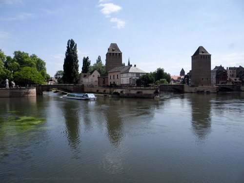 Le tour de Strasbourg à vélo