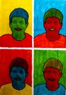Portraits POP ART