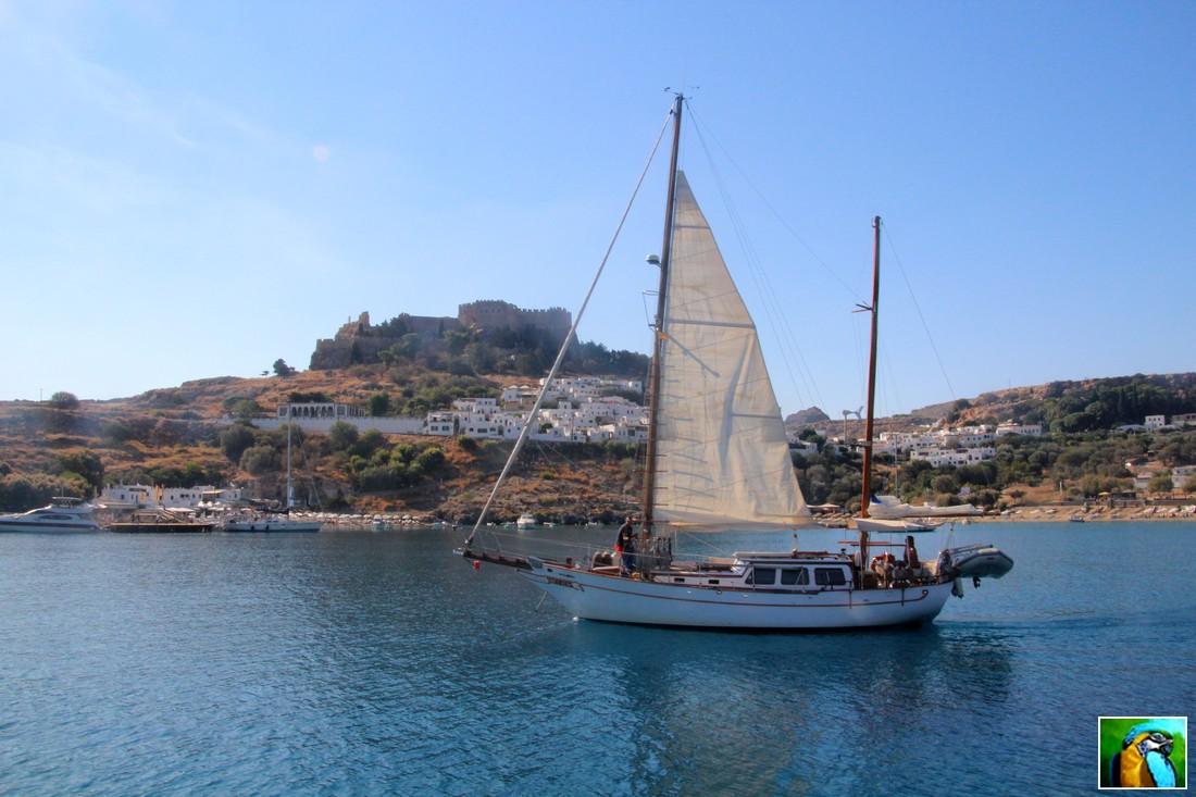 RHODES : Balade en Yacht 1/3