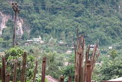 Le camp de réfugiés Birmans
