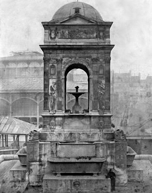 La fontaine des Innocents - Paris (1er arrondissement)