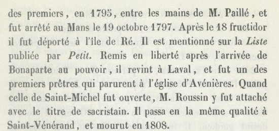 curé de Guécélard