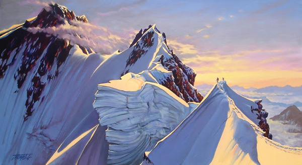 Peinture de : Gilbert Thomas