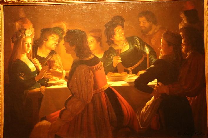 Gherardo delle Notti le souper de mariage