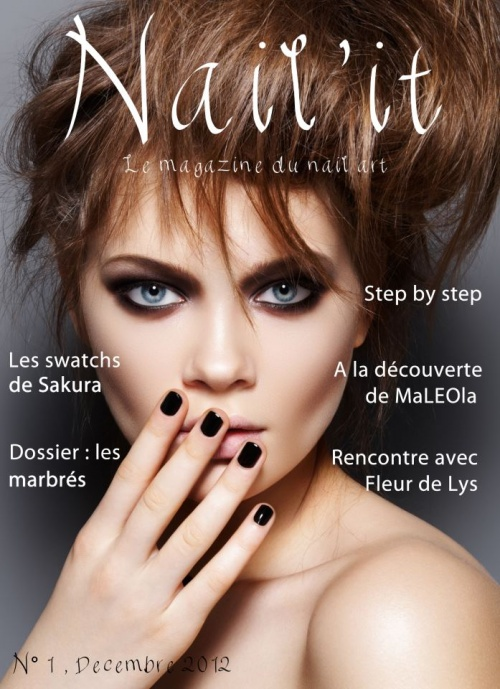 Un nouveau magazine nail-art, Nail'it !