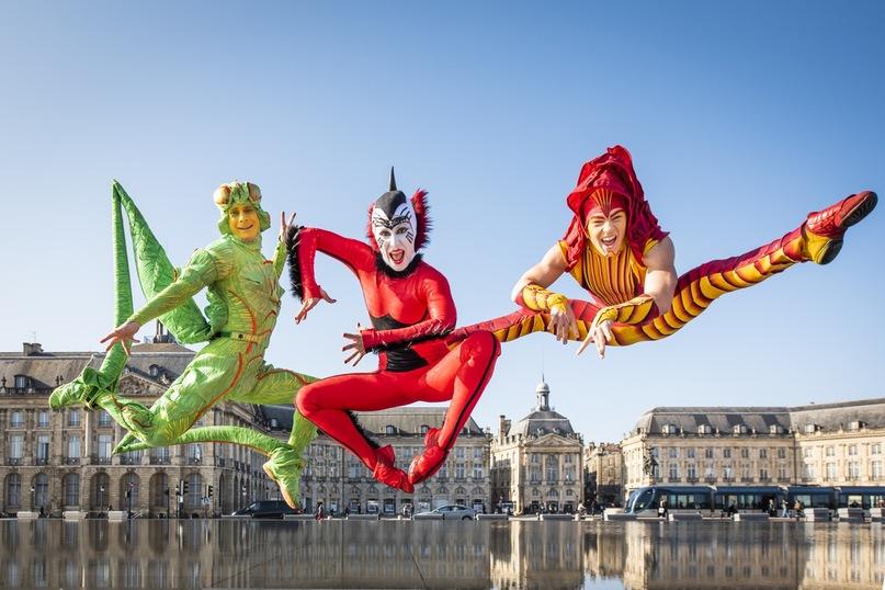 Un moment de grâce : le Cirque du Soleil à Bordeaux