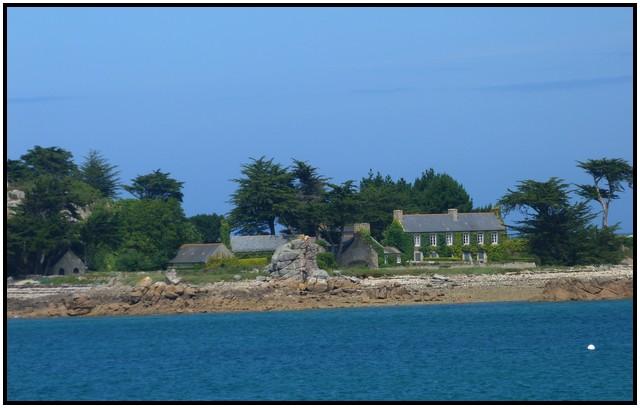 Côte de Trébeurden et ploumanach
