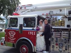 Un pompier réalise son rêve.....