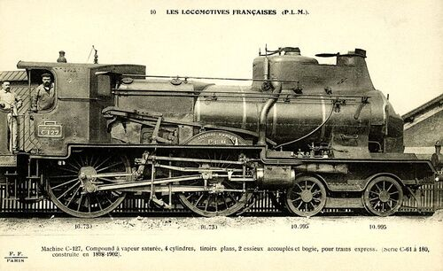 Locomotives à Vapeur