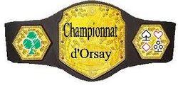 C'est parti pour le Championnat d'Orsay