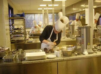 Epreuve de pâtisserie de la coupe Lesdiguières-Chartreuse