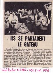 21 et 28 juin 1973 : anniversaires à gogo ! Nouveautés !