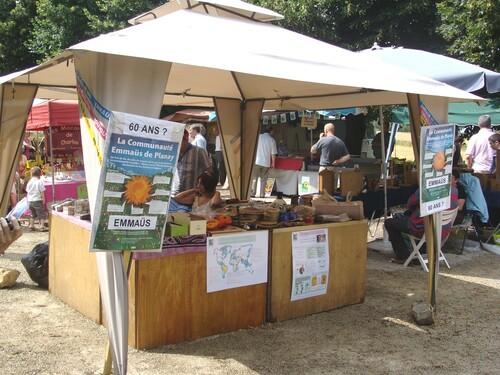 Le marché bio de Fontaines les Sèches