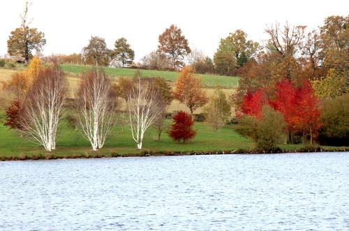 Le lac de Lenne à Baraqueville
