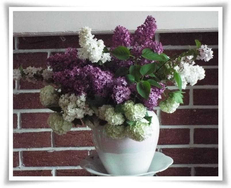 Bouquets pimpants ...
