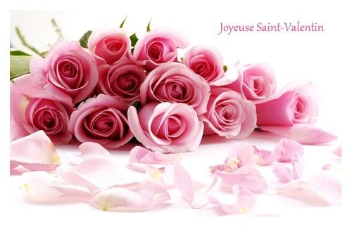 Bonne fin de semaine- Bonne Saint-Valentin.