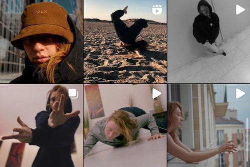 De jolies photos, un style affirmé et une super maîtrise de la breaking dance