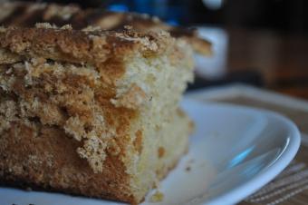 Cake sans beurre à la fleur d'oranger