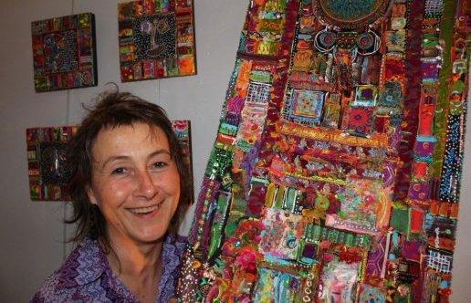 Les pensionnaires du foyer de l'Arche à La Merci ont réalisé des oeuvres étonnantes