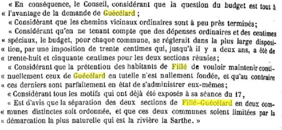 fillé-guécelard 1879 conclusion