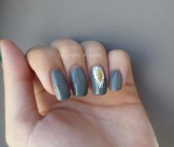 Nail Art sur vernis thermique