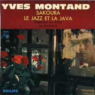 Yves Montand, 1962 - Philips (432.814)