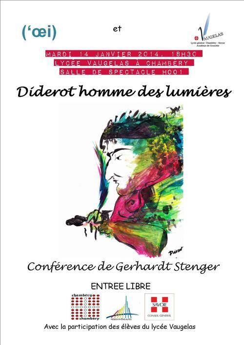 Flyer soirée Diderot version couleur