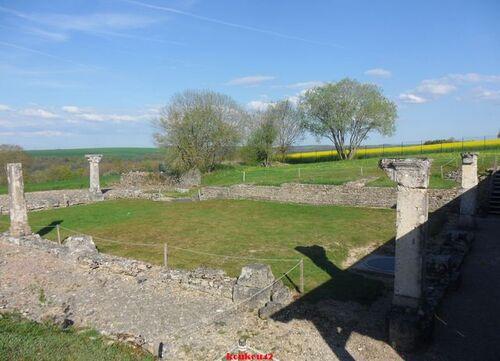 Echappée belle Bourguignonne. Alise-Sainte-Reine. Le site archéologique (fin).
