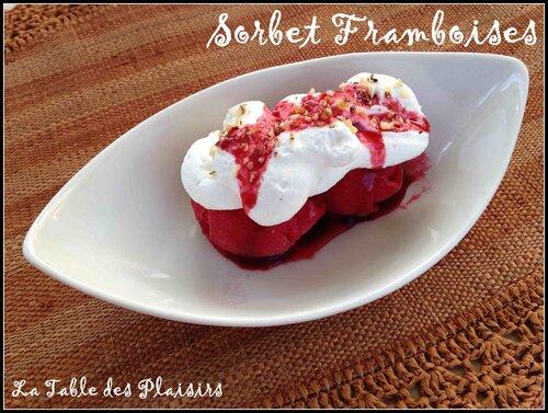 SORBET FRAMBOISES