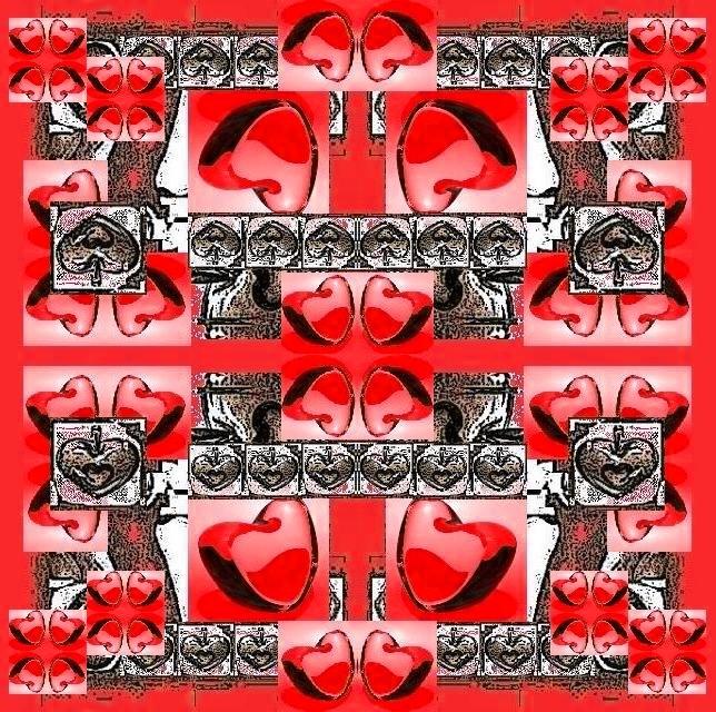 Mandala rouge 14 02 2010