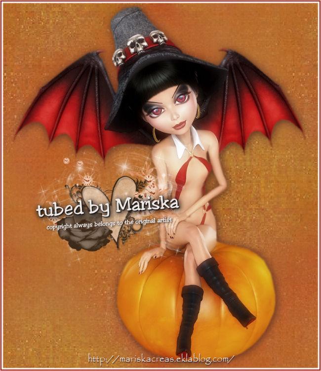 tubes sorcières  et citrouilles Halloween