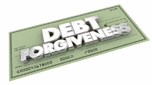 If I can no longer pay my credit card, do I have my debt forgiven?