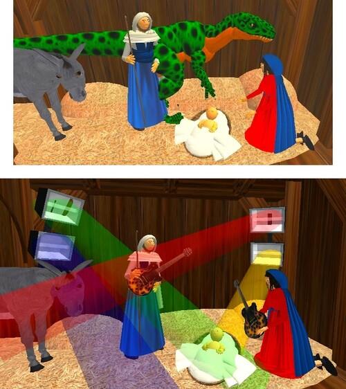 La Crèche et le Démon