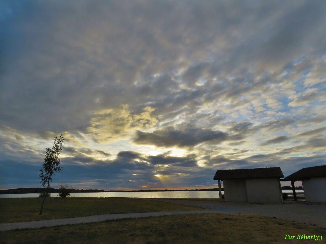 un soir au lac de Der