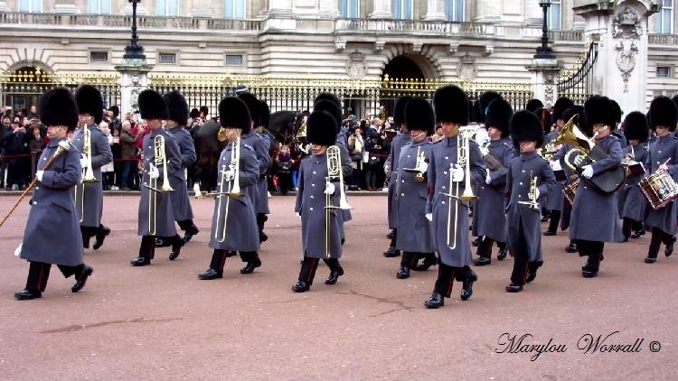 Londres : Relève de la garde