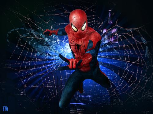 La toile de Spider-man