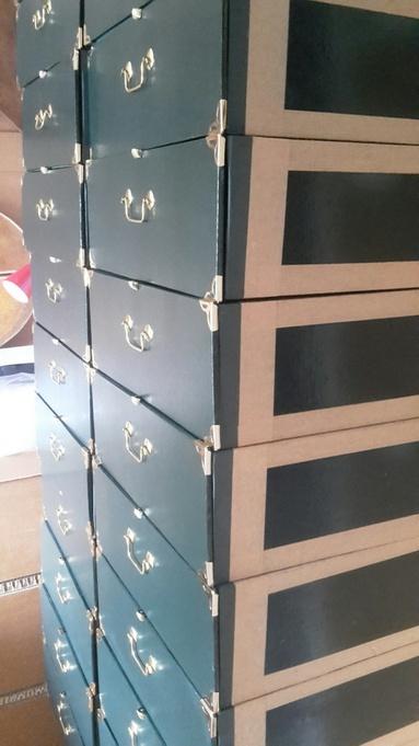 restauration tiroirs cartonnier