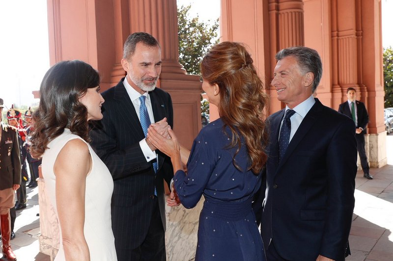 Avec le président