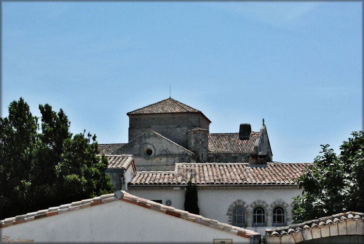 Photo du village de Talmont sur Gironde en Charente