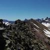 De la Punta intermedia (2510 m), regard derrière