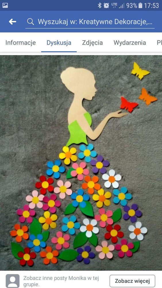 """Idée Pinterest : """"Dame printemps"""""""