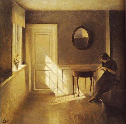 Femmes lisant-peintures 20eme jusqu'à aujourd'hui