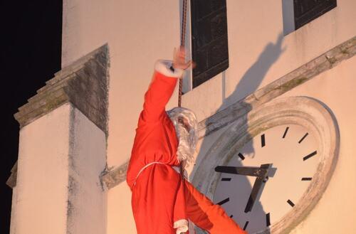 Descente du Père Noël 2012