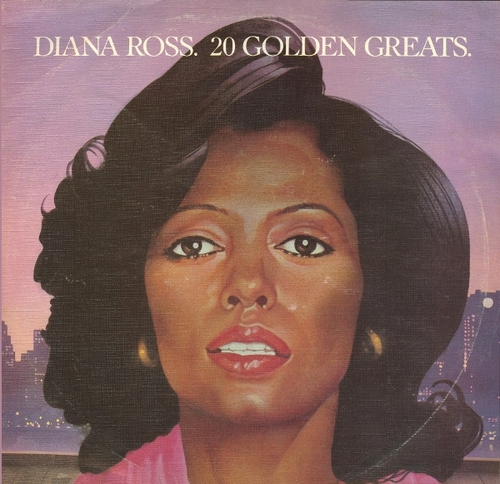 "Diana Ross : Album "" 20 Golden Greats "" Motown Records EMTV 21 [ UK ]"