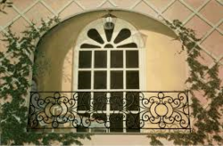 Une Souris à son balcon