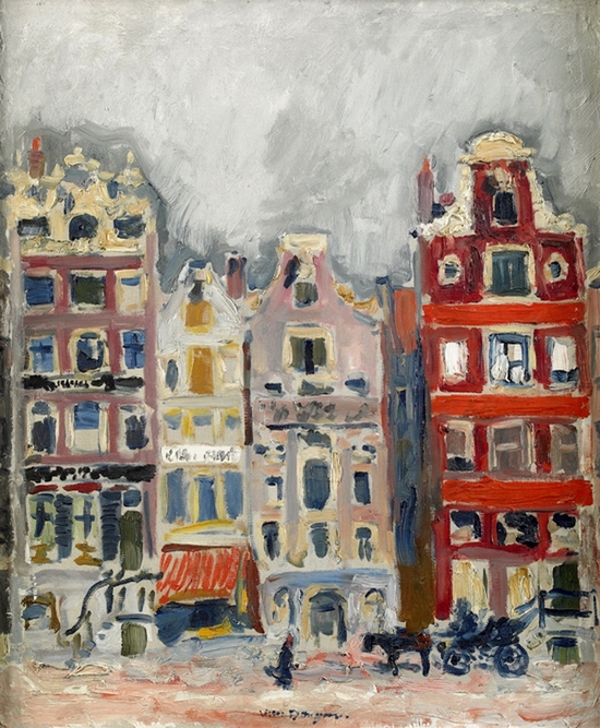Kees Van Dongen, Maisons à Amsterdam