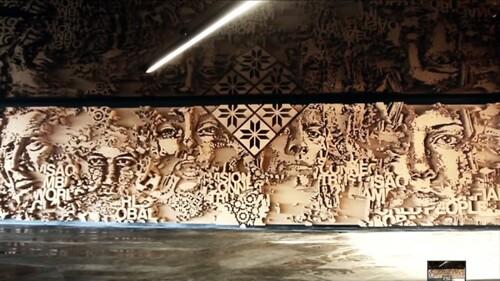 Vhils, artiste urbain, par Camila Nooagat.