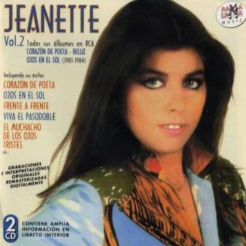 JEANETTE - Corazon de Poeta  (Romantique)